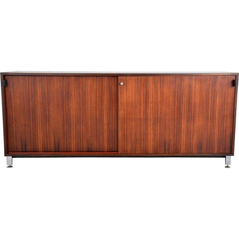 Vintage rosewood sideboard by Florence Knoll, 1960s