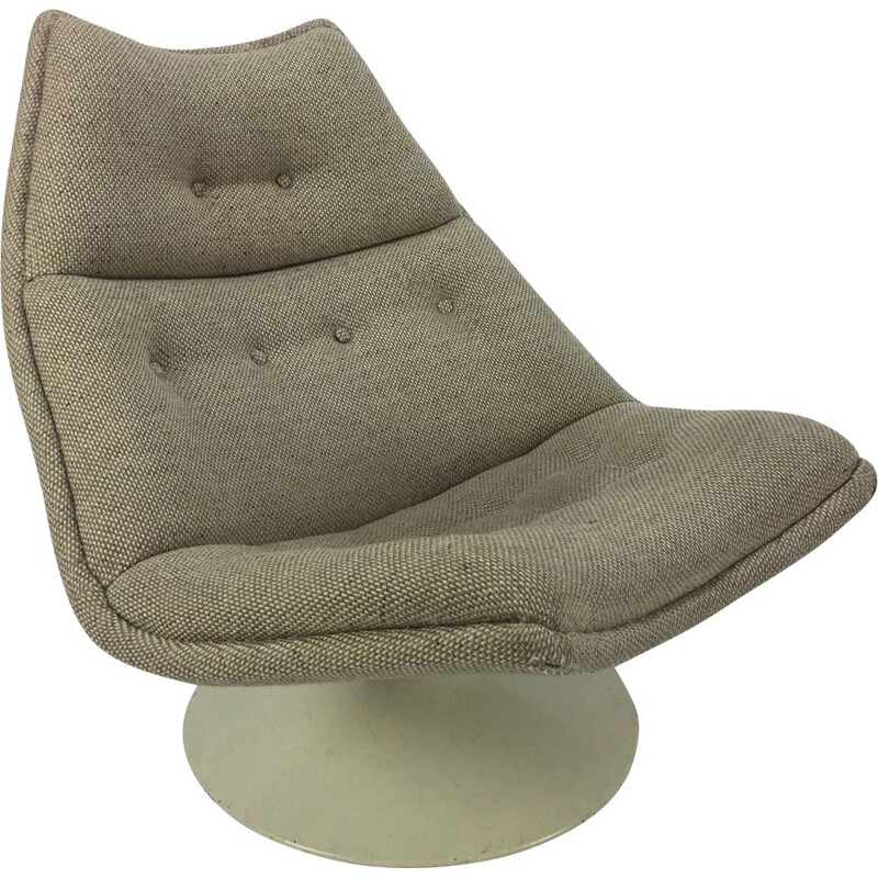 Vintage F511 Lounge chair by Geoffrey Harcourt for Artifort, 1960