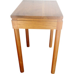 Vintage teak side table, Pierre GAUTIER-DELAYE - 1957