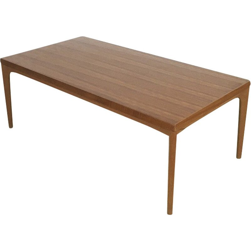 Scandinavian Velje Mobelfabrik coffee table, Henning KJAERNULF - 1960s