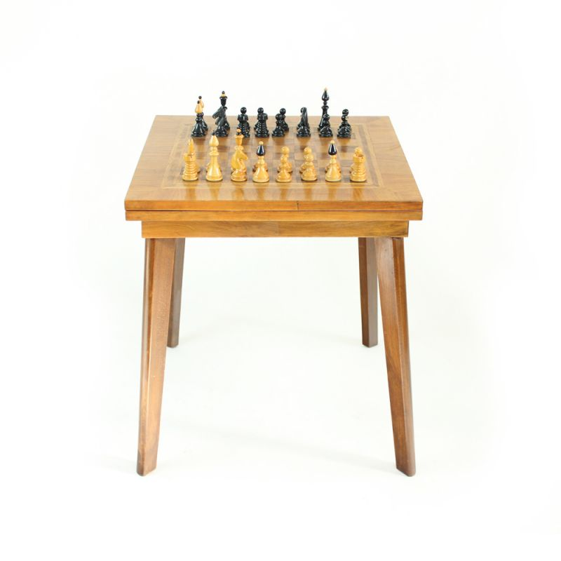 Coffee Table With Chess Top Board