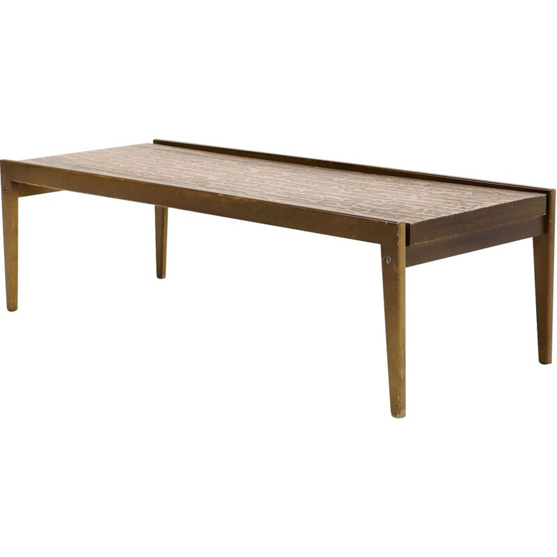 Vintage scandinavian coffee table, 1950s