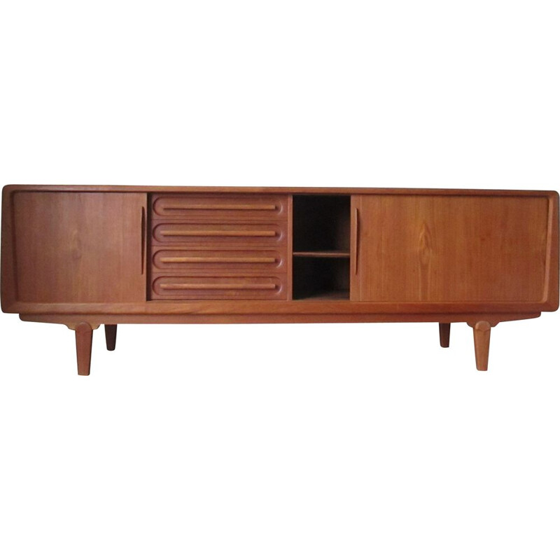 Large Danish vintage sideboard by A.Vodder for Sonderborg