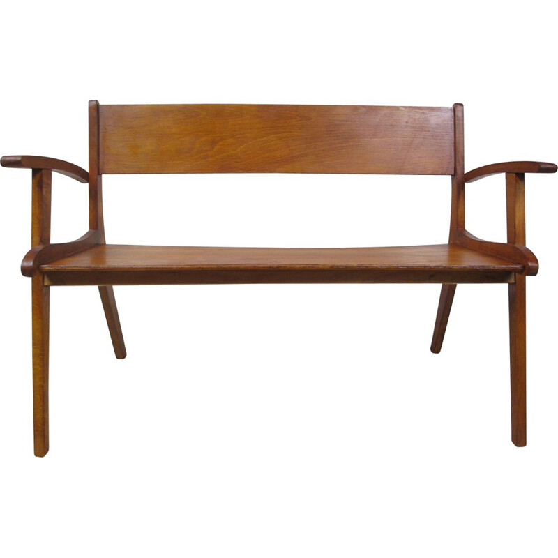 Vintage bench for children by Sollinger, Germany, 1960s