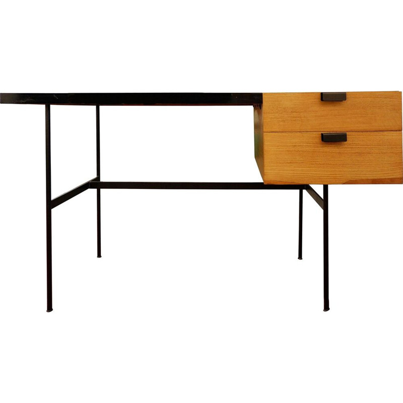 Pierre Paulin's vintage CM141 desk for Thonet, 1954