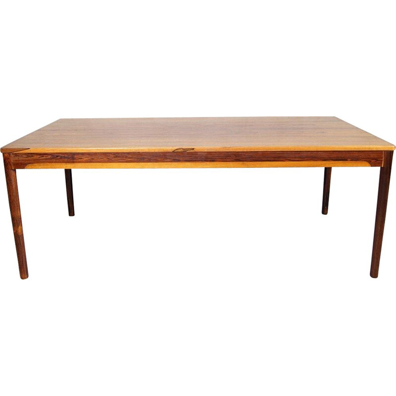 Rosewood swedish vintage coffee table, 1960s