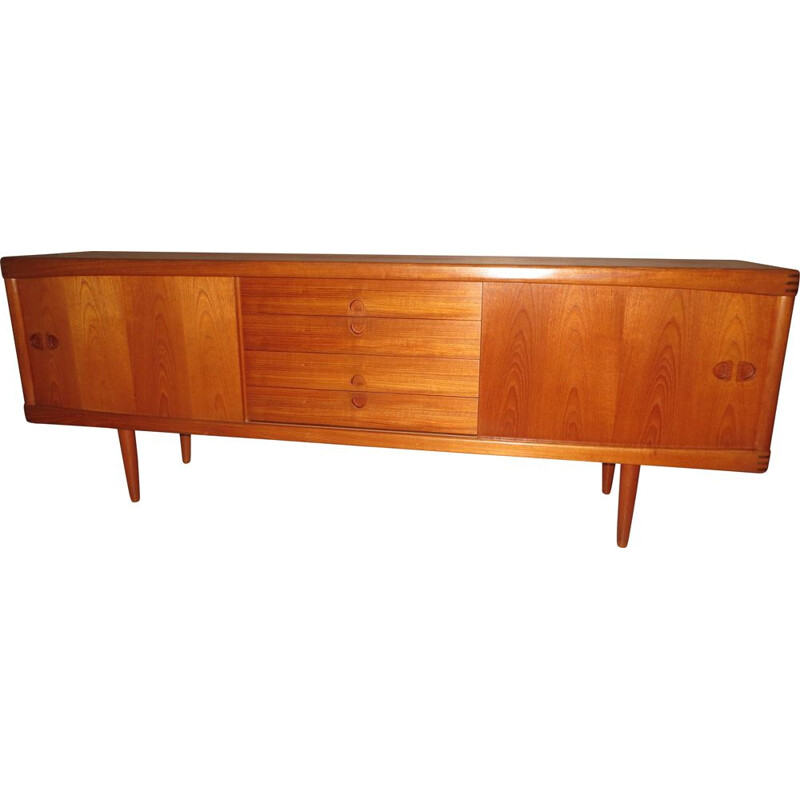 Vintage danish teak sideboard by H.W.Klein for Bramin, 1960s