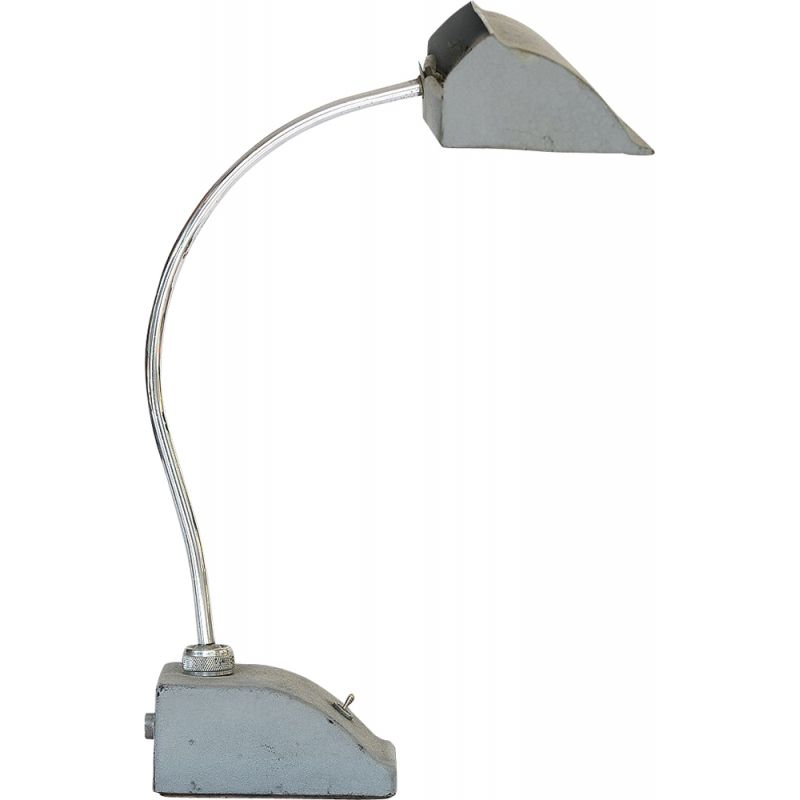 Vintage desk lamp with fluorescent tube, France, 1950s