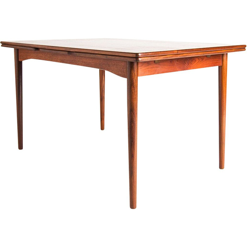 Vintage teak dining table, Denmark, 1950s