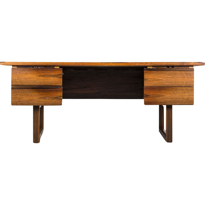 Vintage rosewood desk from Kondor, 1960s