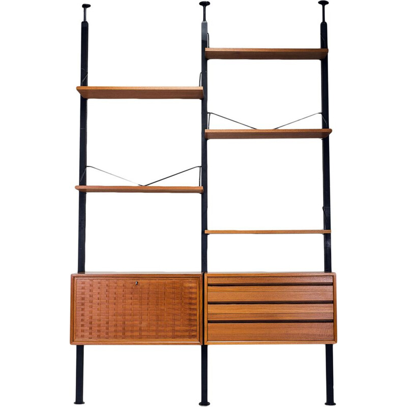 Vintage Wall Unit by Poul Cadovius for Cado, 1960