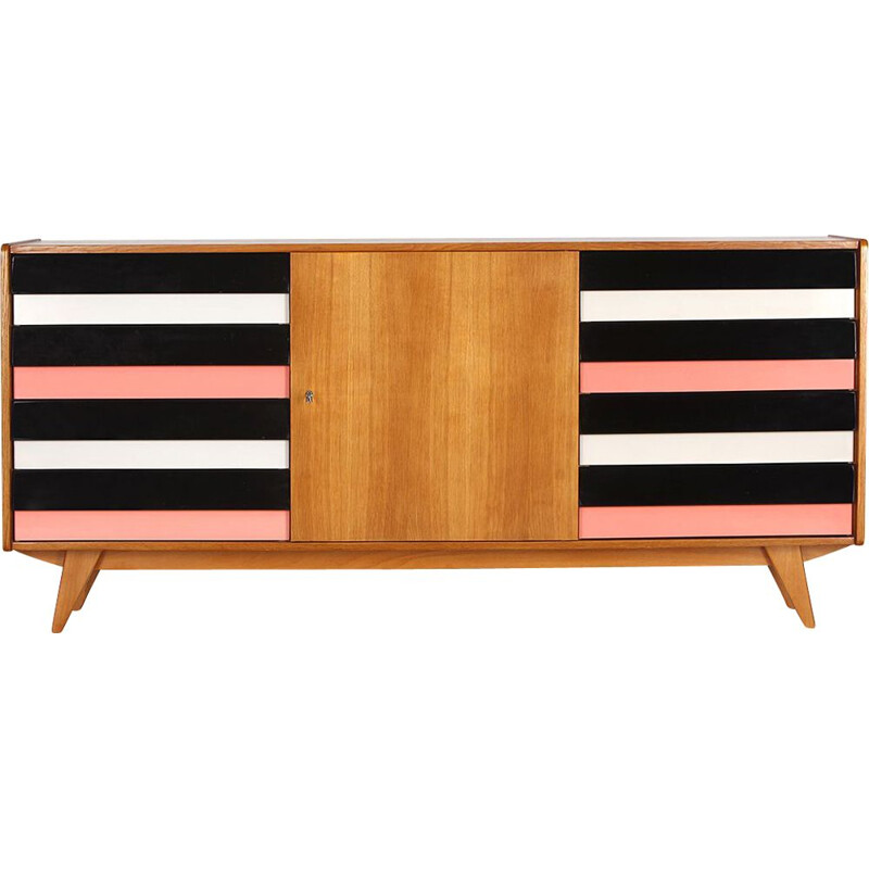 Vintage sideboard model U-460  by Jiri Jiroutek for Interier Praha, 1960