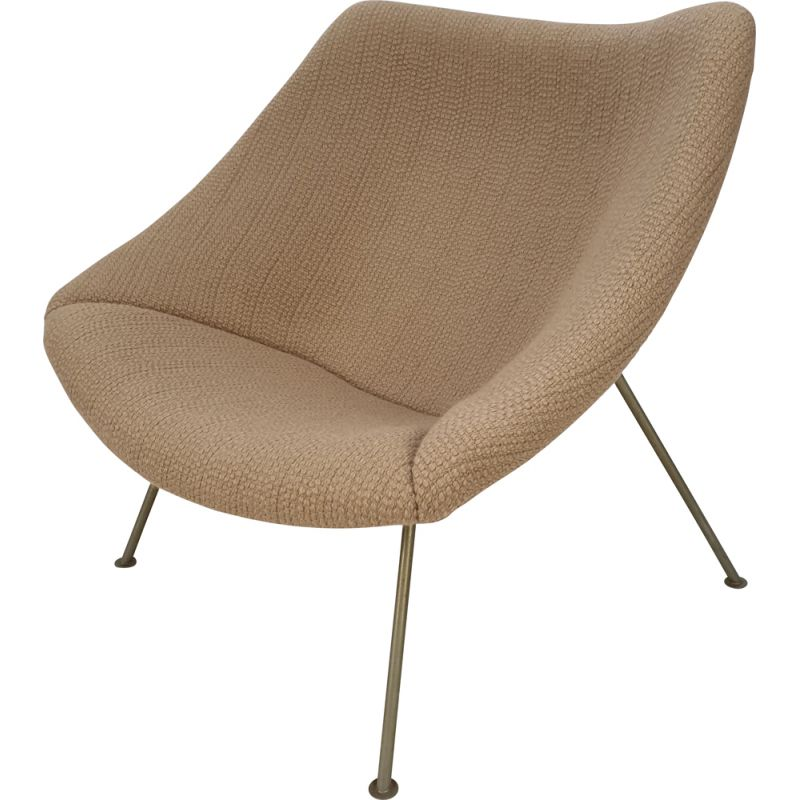 Vintage Female Oyster Chair by Pierre Paulin for Artifort, 1965