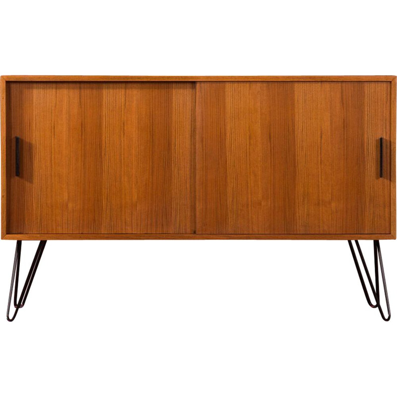 Vintage walnut sideboard,Germany, 1960s