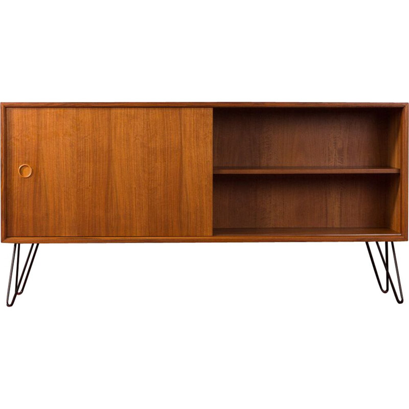Vintage walnut sideboard, Germany, 1950s
