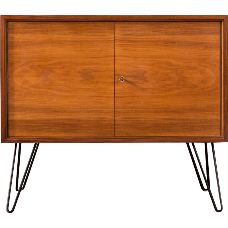 Vintage walnut chest of drawers, Germany, 1960s