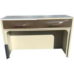 "Dressing table ""DF2000"" in melamine, Raymond LOEWY - 1960s"