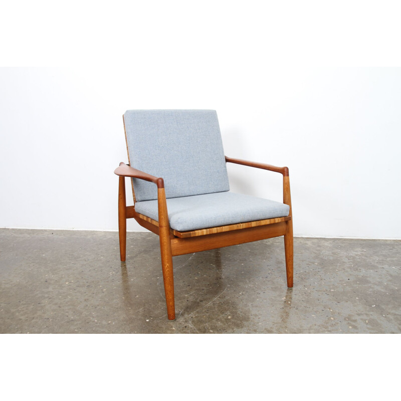 Vintage SW 96 armchair by Finn Juhl for Søren Willadsen Møbelfabrik, 1950s