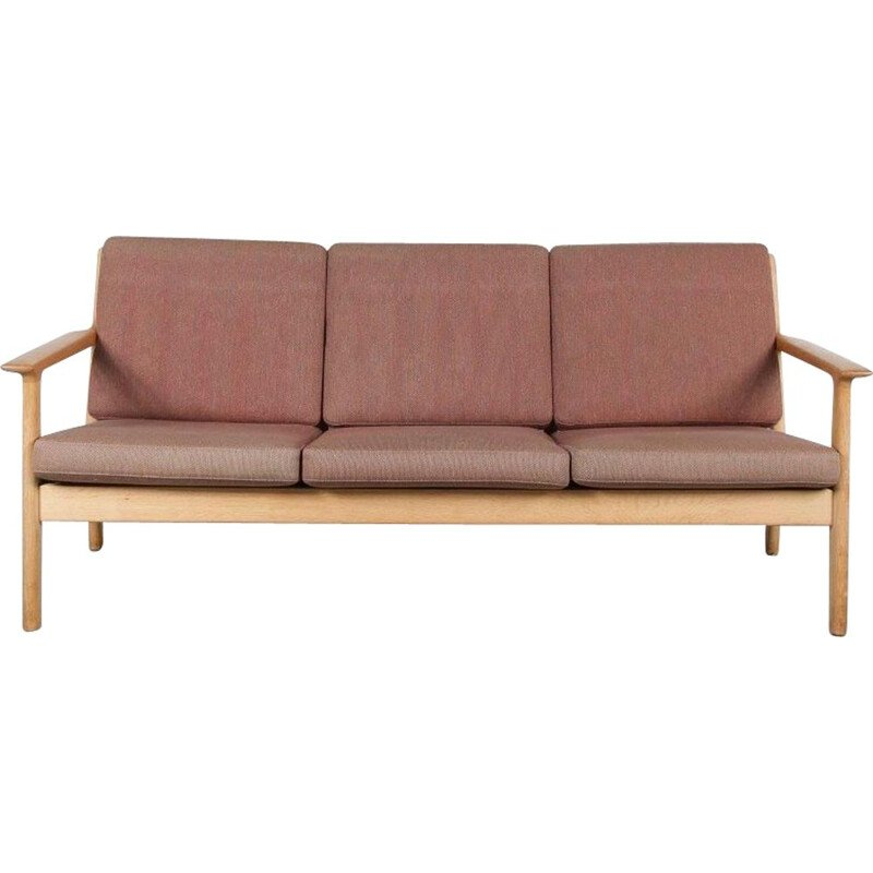 Vintage Danish 3-seater sofa by Hans J. Wegner for Getama, Denmark, 1960
