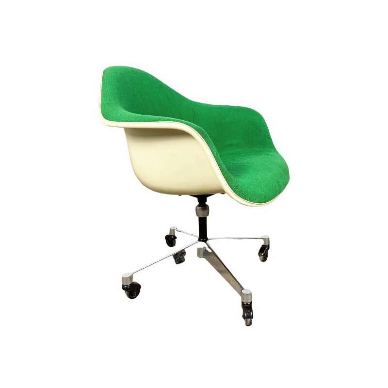 vintage Fiberglass Office Chair by Charles & Ray Eames for Herman Miller, 1980s