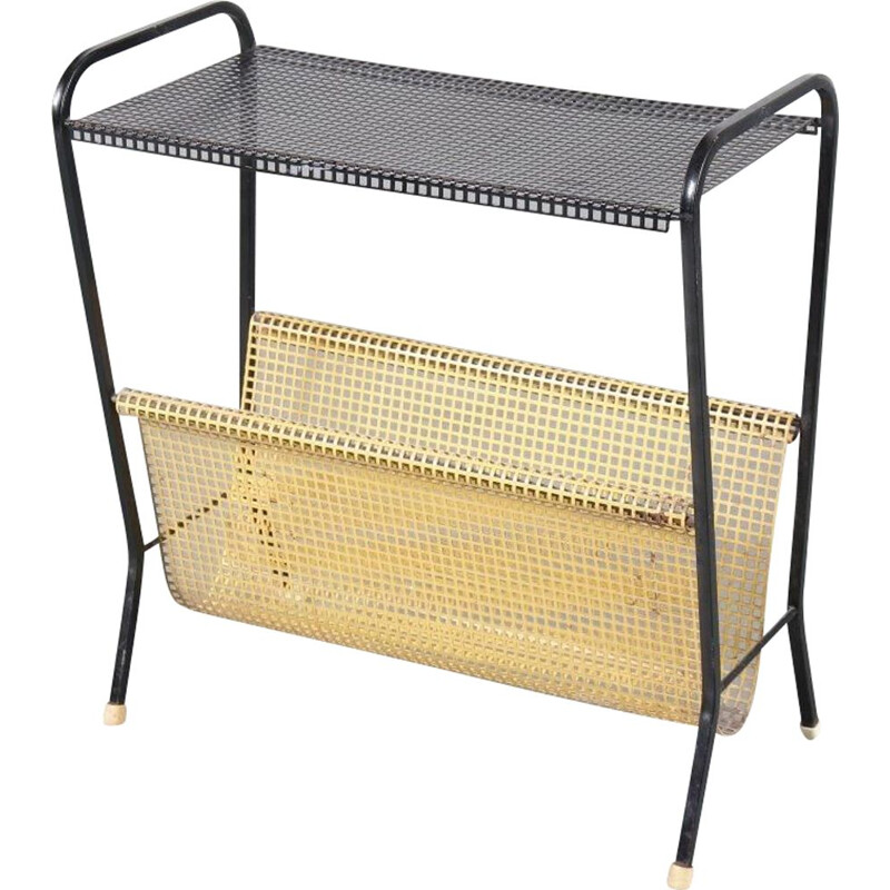 1950s Metal magazine rack  manufactured by Pilastro in the Netherlands