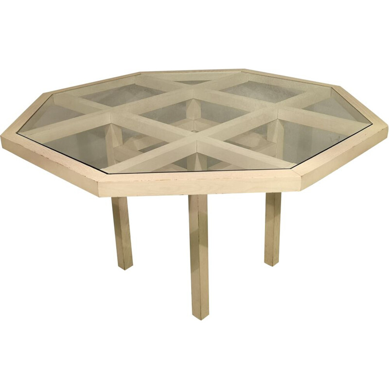 """Vintage table """"Octo"""" by Jean-Michel Wilmotte, 1976s"""