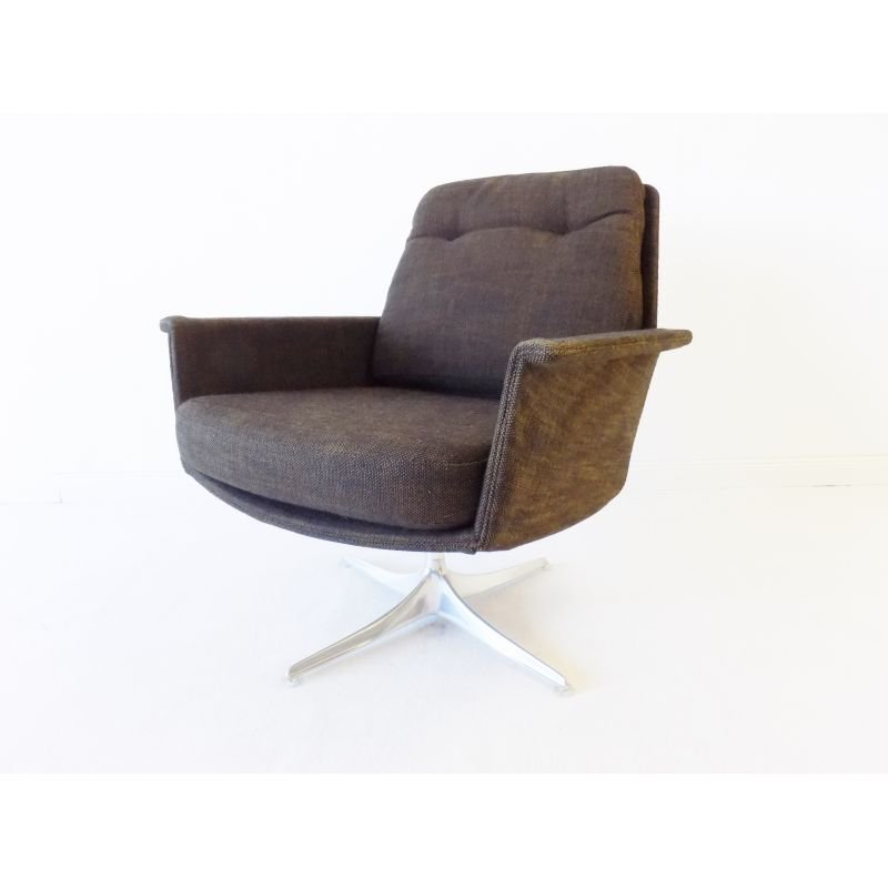 Vintage pair of Cor Sedia Lounge chair by Horst Brüning