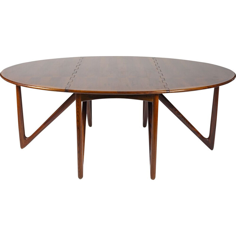 Table de Kurt Østervig pour Jason Møbler 1950