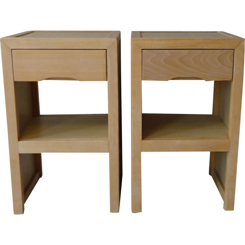 Pair of vintage sornay bedside tables