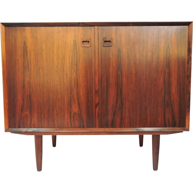 Mid-Century Danish Rosewood Cabinet by E. Brouer for Brouer Møbelfabrik, 1960s