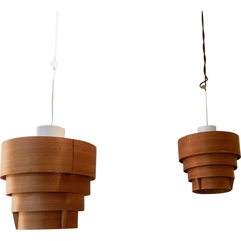 Paire de suspensions scandinaves,