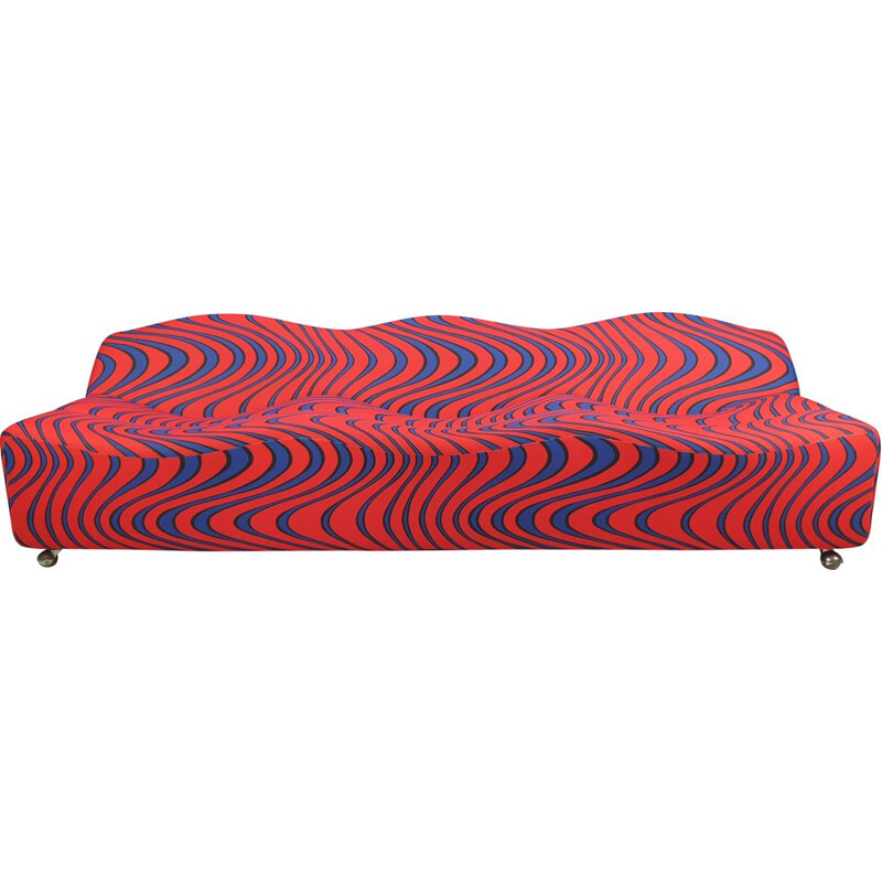 Vintage ABCD 3-Seater Sofa by Pierre Paulin for Artifort