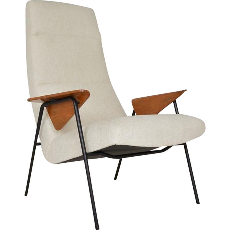 Vintage armchair by Arno Votteler edited by Walter and Wilhelm Knoll