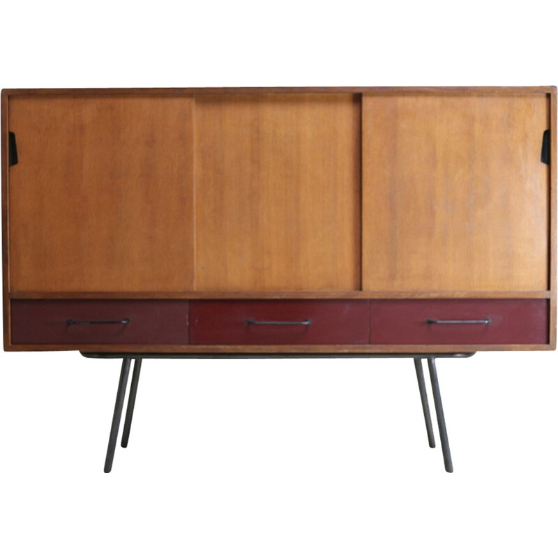 Vintage buffet 102 by Janine Abraham, Meubles TV edition, France, 1953
