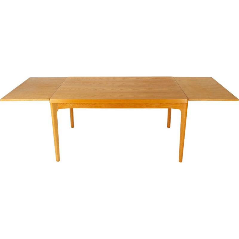 Danish Oak Dining Table by Henning Kjærnulf 1960s