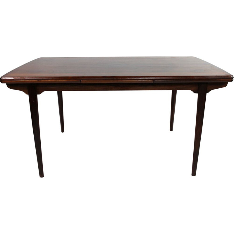 Vintage extendable Dining table in rosewood by Arne Vodder, 1960s.