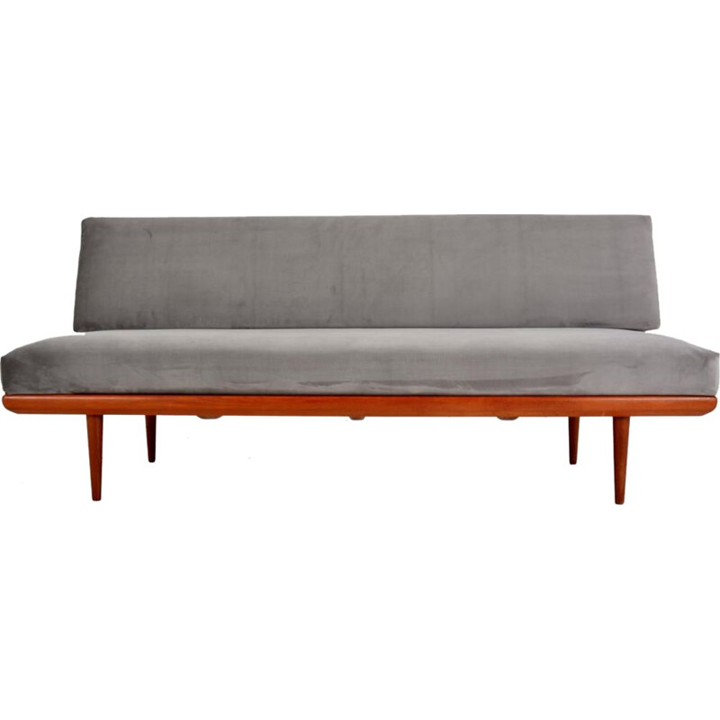 """Vintage Sofa bed """"Minerva"""" by Peter Hivdt and Orla Molgaard Nielsen by France & Son, 1960s"""