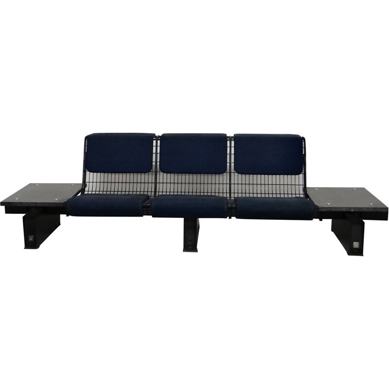 Vintage bench by Osvaldo Borsani for Tecno