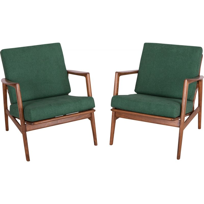 Pair of vintage armchairs 300-139 by Swarzędzka Factory, 1960s