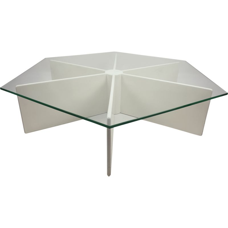 Vintage Spider Table model T878 by Pierre Paulin for Artifort, 1960s