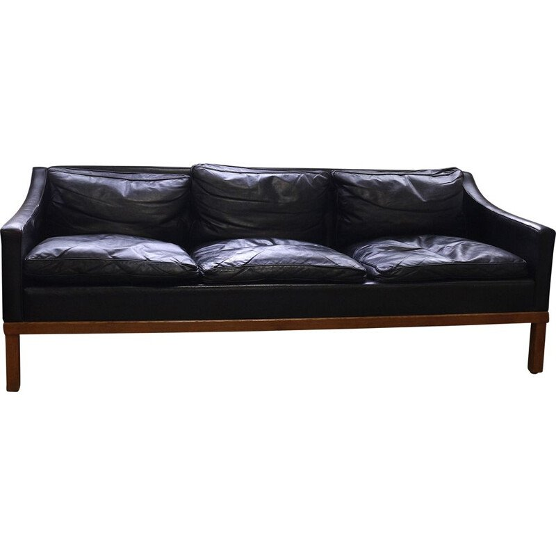 Vintage Sofa by Ib Kofod Larsen for Ope, 1950s
