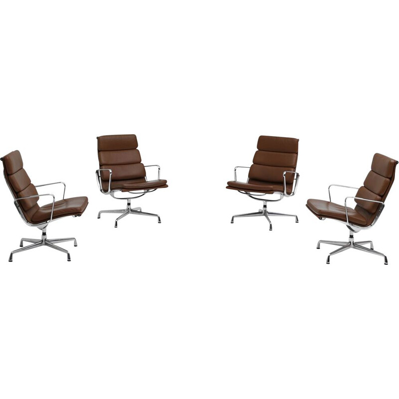 Vintage set of 4 EA216 Eames chairs Vitra edition