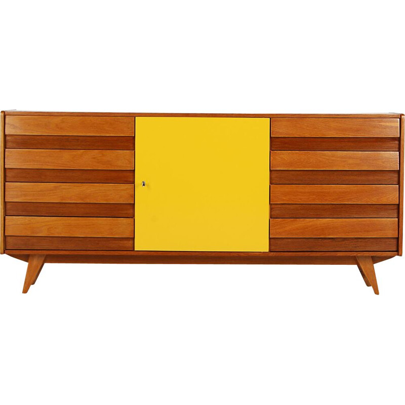Vintage Model U-460 Sideboard by Jiri Jiroutek for Interier Praha, 1960s