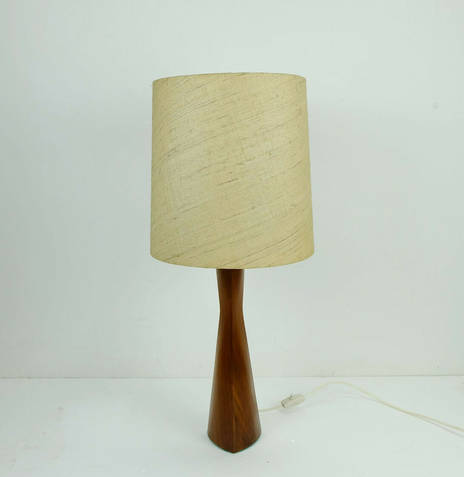 A Beautiful Elegant Teak Table Lamp