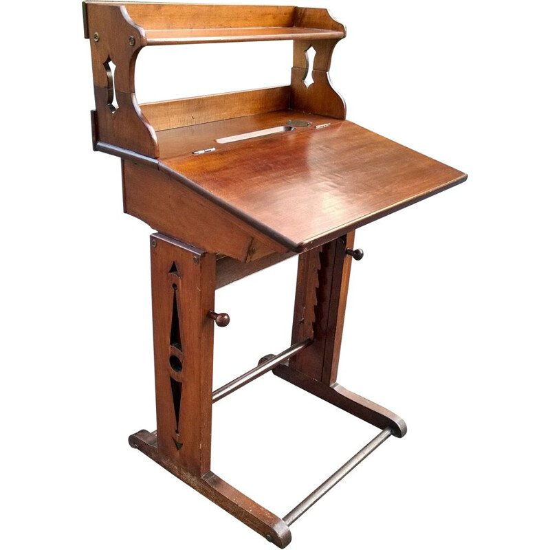 Vintage workshop writing desk