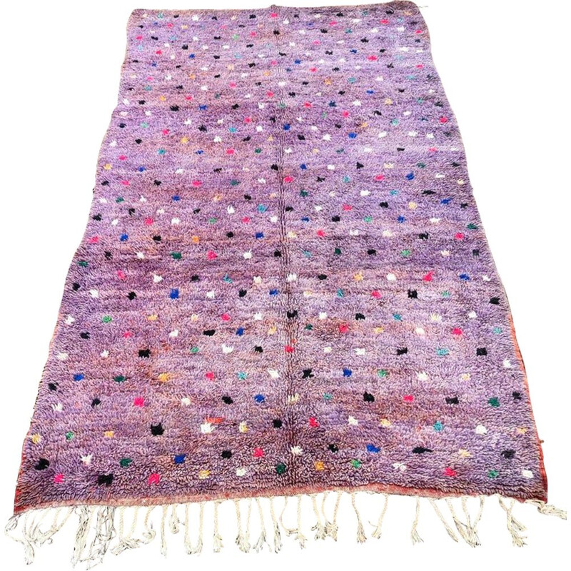 Extravagant vintage rug from the Aït Boy Chaouen region handmade 170x320 cm