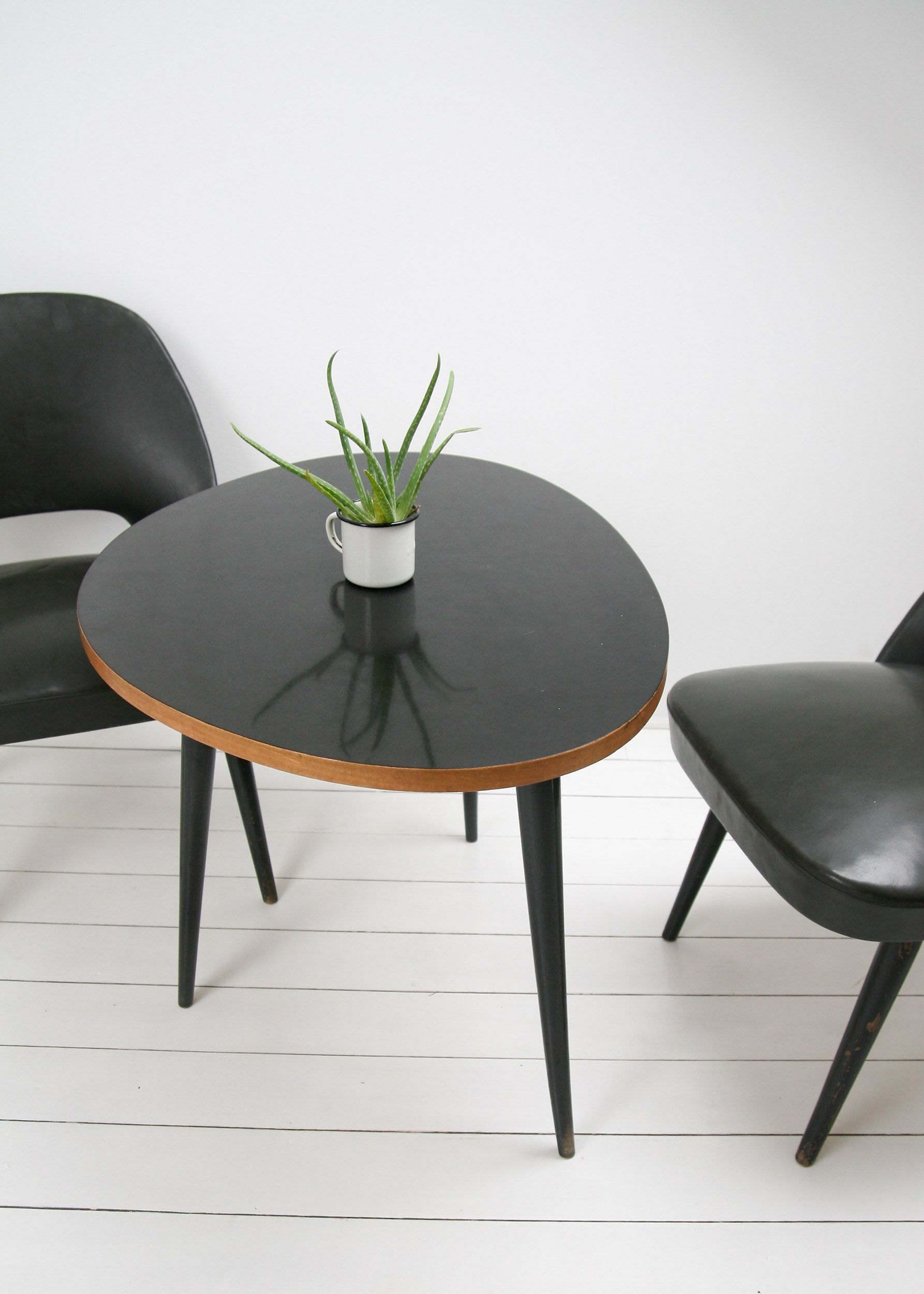 Vintage Set Of Coffee Table And Chairs 1950s Design Market