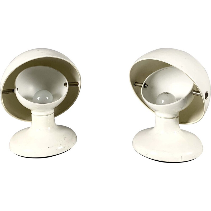 Set of 2 table lamps by Tobia and Afra Scarpa for Flos, 1960s