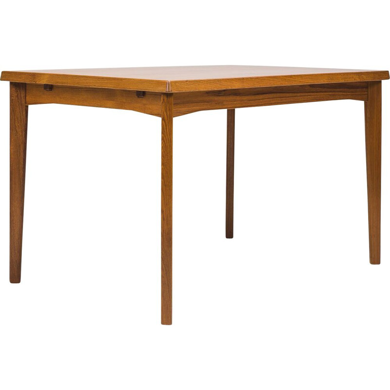 Vintage Teak Dining Table by Henning Kjærnulf for V & S, 1960s