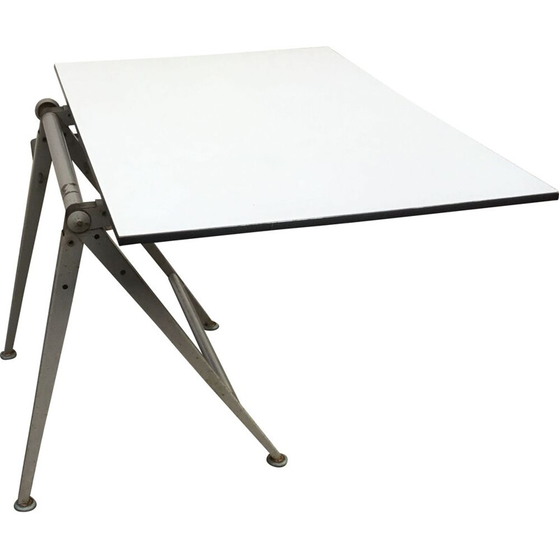 Vintage Drawing table by Friso Kramer for Ahrend the circle